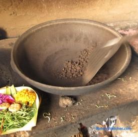 Roasting Kopi Luwak beans