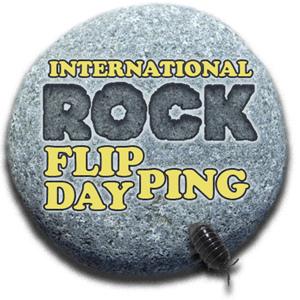 International Rock Flipping Day Logo