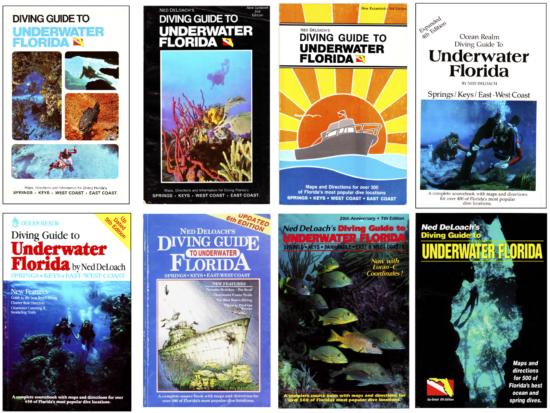 Anna DeLoach - 3 Books Page Diving Guide to Florida 2